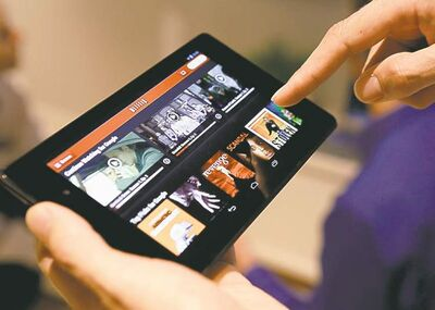 Gary Reyes / MCT Google's new Nexus 7 mini tablet has a high-def screen suited for video streaming.