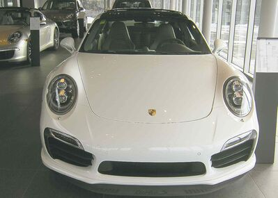 The new Porsche 911 Turbo S features a turbocharged 3.8-litre flat-six engine producing 560 horsperpower.