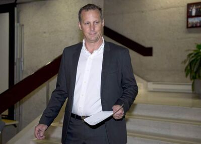 Former Laval interim mayor Alexandre Duplessis: denies soliciting sex