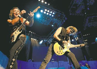 Iron Maiden is playing better now than 20 years ago.