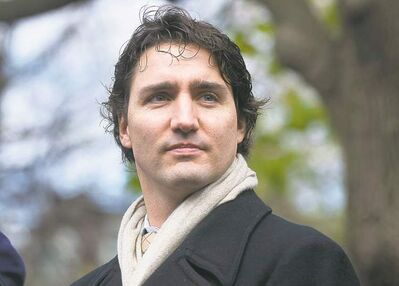 Graham Hughes / The Canadian PressJustin Trudeau�s team called the Tories� attack a smear campaign.