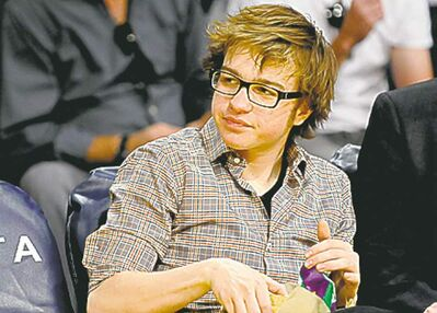 Gus Ruelas / The Associated Press Archives Angus T. Jones isn't playing around.