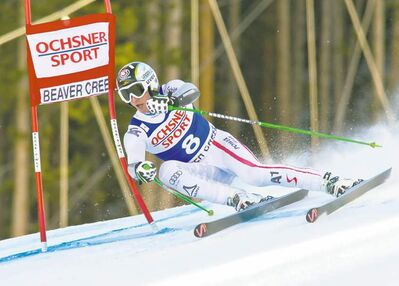 Austrian Hannes Reichel turned on the jets but he wasn't fast enough to outpace winner Matteo Marsaglia Saturday in Colorado.