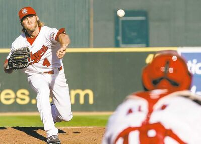 Chris Salamida had complete-game shutouts in back-to-back starts on Aug. 15 and Aug. 20.