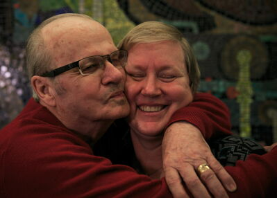 Don de Vlaming and his wife Sylvia. He says he's fortunate to have a loving family to help him navigate through dementia struggles. Many patients aren't so lucky.