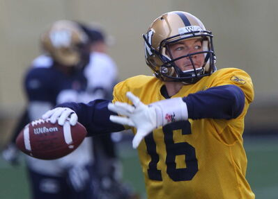 Winnipeg Blue Bombers quarterback hopeful Robert Marve made a good impression in limited time against Toronto on Monday.