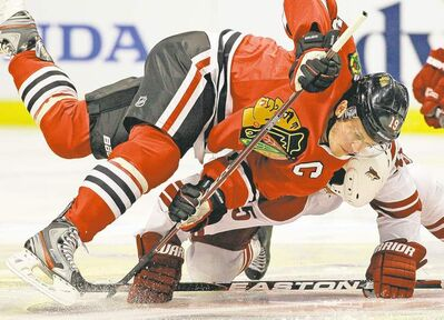 Blackhawks captain Jonathan Toews will be getting between 8 and 8.5 per cent of his 2011-12 salary returned when calculations are finalized next month.