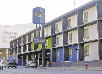 CentreVenture denies it bought the Carlton Inn for the convention centre expansion, but the convention centre's new hotel will likely be built on the site.