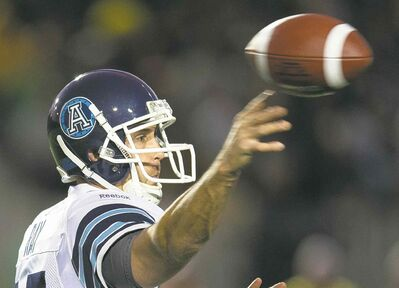 Frank Gunn / the canadian press archivesFormer Frito Lay delivery man Ricky Ray was discovered playing in one of football�s bush leagues by the Edmonton Eskimos. He�s been delivering wins ever since.