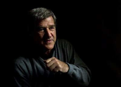 "Hockey hall of famer Bobby Orr poses for a photograph in Toronto on Tuesday, Oct. 15, 2013. Orr has a new booked called "" Orr: My Story"". THE CANADIAN PRESS/Nathan Denette"