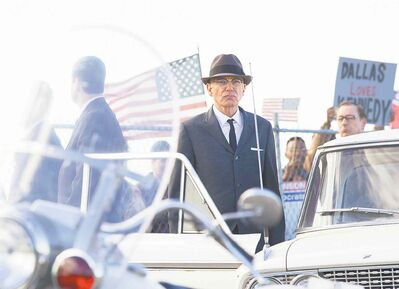 Billy Bob Thornton stars as Secret Service agent Forrest Sorrels in Parkland.