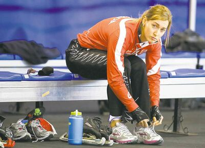 Winnipeg's Brittany Schussler will be seeing lots of ice time on the World Cup circuit this season.