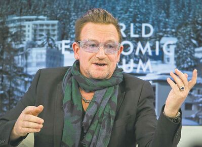 U2 frontman Bono says the band's yet-to-be-released new album isn't a nostalgia trip, though the quartet did revisit its early days in London.
