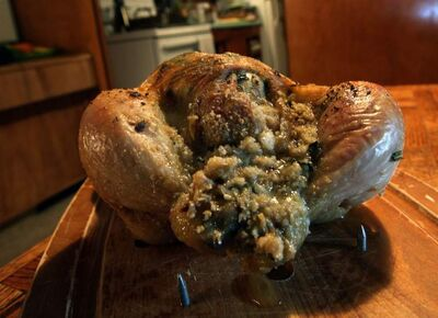 Grandma Stephen's Scottish stuffing for poultry