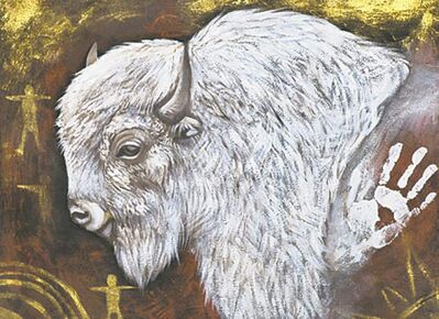 White Buffalo Calf by Jackie Traverse