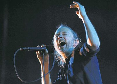 Radiohead's Thom Yorke says he's becoming less of a musical snob as he ages.