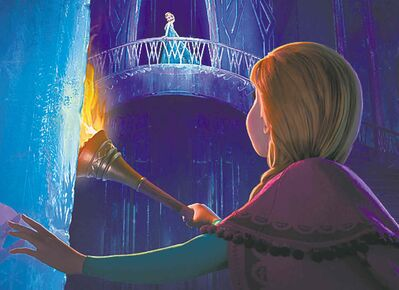 "Nov. 27: Winter warmth: Disney's animated ""Frozen"" is a 3-D adaptation of Hans Christian Anderson's fairy tale ""The Snow Queen."" (Courtesy Disney/MCT)"