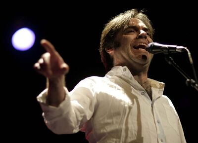 TREVOR HAGAN / WINNIPEG FREE PRESS</p><p>Crash Test Dummies frontman Brad Roberts and the rest of his band are performing at the Canada Games Festival at The Forks.</p>