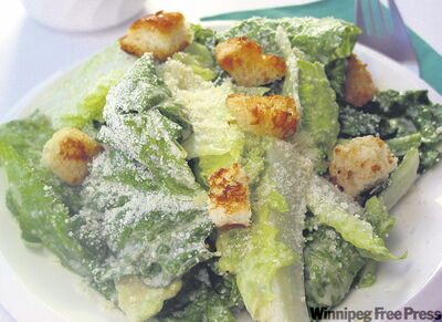 Like Hy's caesar dressing (above),  and c