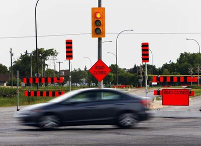 Two lanes of traffic will be open by the end of 2014, but the project likely won't be completed until the fall of 2015.