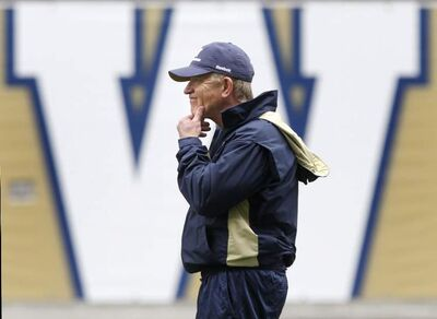 Winnipeg Blue Bombers Head Coach Tim Burke