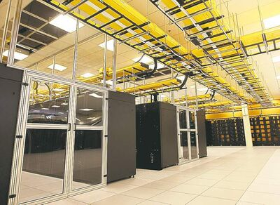 Alan Rogers / The Associated Press archivesThe Yellowstone supercomputer in Wyoming is one of the most powerful on Earth.