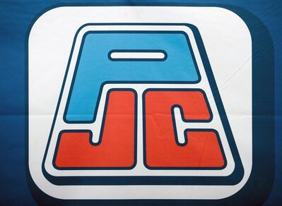 A Jean Coutu Group PLC logo is shown at the company's annual general meeting in Longueuil, Que., Tuesday, July 5, 2011. CANADIAN PRESS/Graham Hughes
