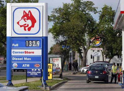 The price of gas inside the city has jumped from 124.9 cents/litre to 132.9 cents/litre overnight.