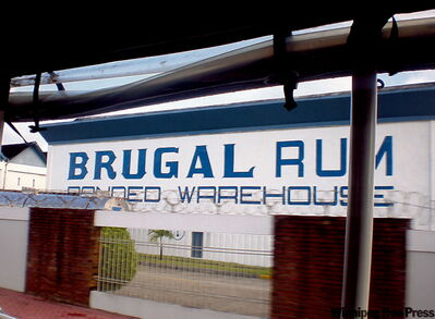 The Brugal Rum Factory in Puerto Plata.
