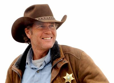 Robert Taylor as Walt Longmire.