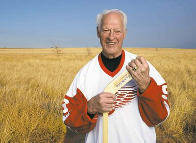 Gordie Howe's bio Mr Hockey: My Story comes out Oct. 14.
