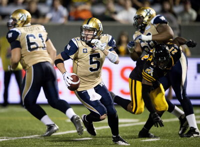 Bombers' quarterback Drew Willy downplayed Thursday's last-second, come-from-behind victory over the Tiger-Cats. 'It's just another win for us,' he said.