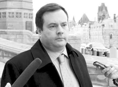 Jason Kenney's rationale for taking control of the nominee program from Manitoba is not convincing.             Minister of Citizenship, leaves the Parliament Buildings after attending the Conservative caucus in Ottawa Wednesday February 16, 2011. THE CANADIAN PRESS/Fred Chartrand