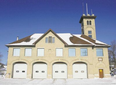 Fire Station No. 5, at 845 Sargent Ave., is about a century old. Many of the city's aging buildings need replacing, says the head of the union representing firefighters.