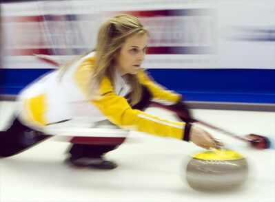 Jones and her Manitoba team are shooting 87 per cent, well ahead of the rest of the field.