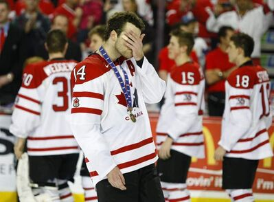 Canada forward Brett Connolly was far from happy about having to accept a bronze medal at last year's tournament.