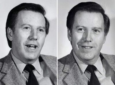 Mayor Bill Norrie, 1983