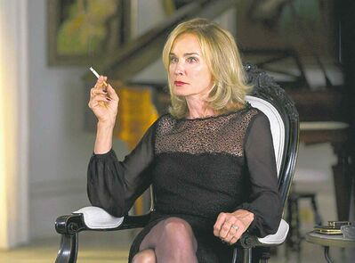 Jessica Lange in American Horror Story: Coven on FX; William H. Macy in Shameless, a Showtime series.