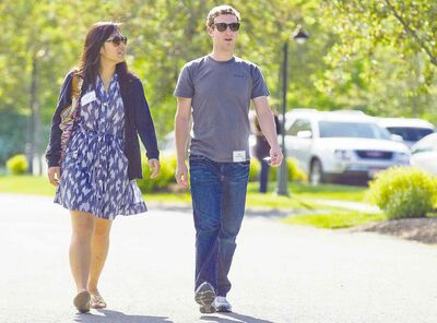 julie jacobson / the associated press filesMark Zuckerberg and his wife, Priscilla Chan, are committed to philanthropy.