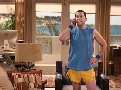 Jon Cryer in a scene from 'Two and a Half Men.'