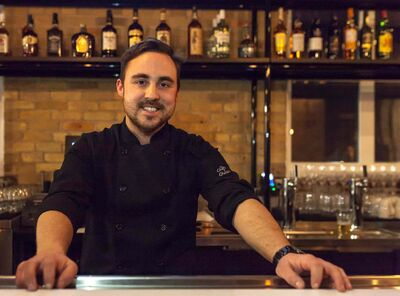 Cibo general manager Stephen Pawulski expects walk-in business from locals.