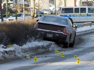 Police officers were on the scene of a serious motor vehicle collision involving a bicycle on Regent Avenue between Brewster Street and Plessis Road Sunday morning.
