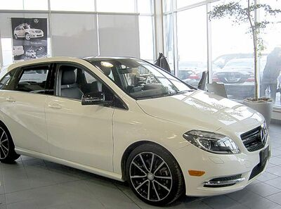 The first of the new 2013 B250 Mercedes arrived at Mercedes-Benz Winnipeg's showroom on Dec. 6, and several more models will be here by early in the new year.