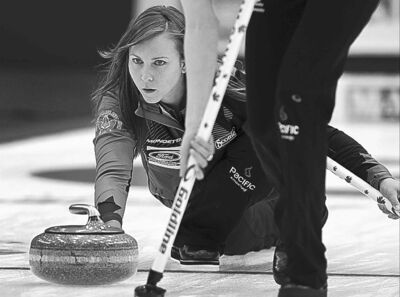 Rachel Homan was just a bit off vs. Switzerland in the gold-medal game.