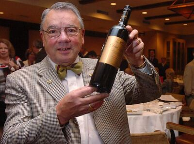 Wolfgang Blass is known for his sartorial style and famous charm -- and his wines.