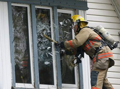 Firefighters have the third most stressful job according to a new survey.