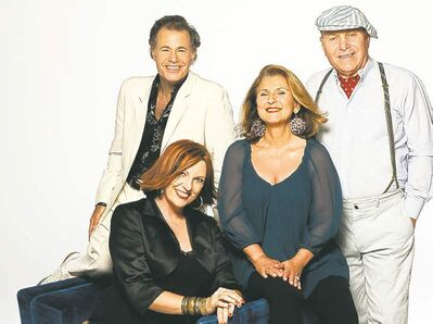 Manhattan Transfer: Alan Paul (from left), Cheryl Bentyne, Janis Siegel and Tim Hauser.