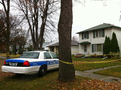 A family dispute at a home in River Heights resulted in a man being taken to hospital, where he later died. The victim's brother has been charged with manslaughter.