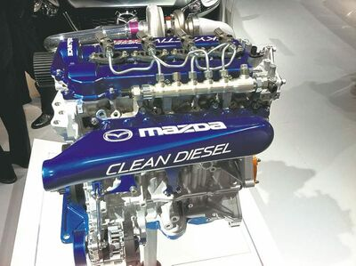 2014 Mazda6 2.2L clean-diesel engine