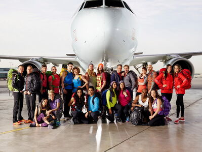 "The cast of the second season of ""Amazing Race Canada"" is shown in a handout photo."